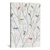 iCanvas Summer Birds by Courtney Prahl Graphic Art on Wrapped Canvas
