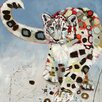 iCanvas 'Snow Leopard' by Britt Freda Painting Print on Wrapped Canvas