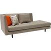 Focus One Home Jordan Chaise Lounge Sofa