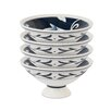 Fitz and Floyd Bristol Footed Bowl (Set of 4)