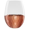 Fitz and Floyd 20 oz. Daphne Stemless Wine Glass (Set of 4)