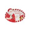 Fitz and Floyd Coastal Clause Sentiment Seas and Greetings Platter
