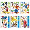 Walltastic 6 Piece Disney Mickey Mouse Clubhouse Wall Sticker Set