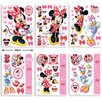 Walltastic 6 Piece Disney Minnie Mouse Wall Sticker Set