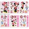 Walltastic 6-tlg. Wandsticker-Set Disney Minnie Mouse