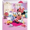 Walltastic Disney Minnie Mouse 8 Piece Wall Mural Set