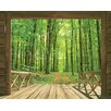 Walltastic View Woodland Forest Wall Mural
