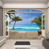 Walltastic View Paradise Beach Wall Mural