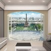 Walltastic View Eiffel Tower in Paris Wall Mural
