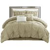 Chic Home Halpert Floral Pinch 6 Piece Comforter Set