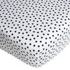 CoCaLo Inc Connor Dottie Fitted Crib Sheet