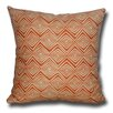 Lifestyle Covers Diamond Zig Zag Decorative Toss Cotton Throw Pillow