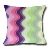 Lifestyle Covers Waves Decorative Toss Throw Pillow