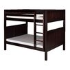 Camaflexi Full over Full Bunk Bed with Panel Headboard