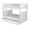 Camaflexi Traditional Camaflexi Full over Full Bunk Bed with Trundle