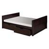 Camaflexi Camaflexi Full Platform Bed with Drawers