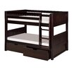 Camaflexi Twin Bunk Bed with Storage