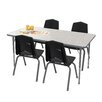Marco Group Inc. 5 Piece Rectangular Activity Table & Chair Set