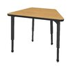 Marco Group Inc. Apex Series Melamine Adjustable Height Standard Desk