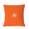 Nantucket Bound Starfish Sunbrella Throw Pillow