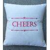 Nantucket Bound Holiday Cheers Indoor/Outdoor Sunbrella Throw Pillow