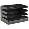 Buddy Products Legal Size 4 Tier Tray