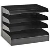 Buddy Products ClassicTM Letter Size 4 Tier Tray