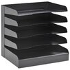 Buddy Products ClassicTM Letter Size 5 Tier Tray