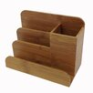 Buddy Products Bamboo Desk Organizer