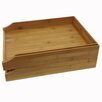 Buddy Products Bamboo Cubbyhole