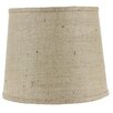 "AHS Lighting 16"" Burlap Drum Lamp Shade"