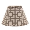 "AHS Lighting 6"" Linen Empire Lamp Shade"
