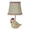 "AHS Lighting Fat Hen 13"" H Table Lamp with Empire Shade"