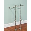 Strom Plumbing by Sign of the Crab Free Standing Leg Tub Supply Set with Shutoffs