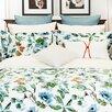 Highland Feather Floral Canvas Comforter Set