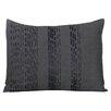 Vera Wang Pom Pom Interrupted Lines Cotton Lumbar Pillow