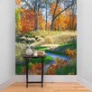 The Binary Box Autumn Scene Path Self Adhesive Wallpaper