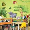 The Binary Box 3 Piece Children's Jungle Animals Wall Sticker Set