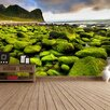 The Binary Box Mossy Shore Self Adhesive Wallpaper
