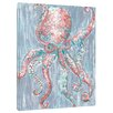 My Island Octopus by Gerri Hyman Giclee on Gallery Wrapped Canvas