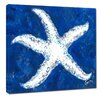 My Island Starfish by Gerri Hyman Painting Print on Wrapped Canvas