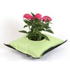 Fiorina Plastic Pot Planter - Color: Green / Black - Greenbo Home and Garden Planters