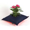 Fiorina Plastic Pot Planter - Color: Navy Blue / Orange - Greenbo Home and Garden Planters