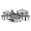 MAGMA PRODUCTS, INC Nestable Induction Cook-Top 10 Piece Cookware Set