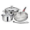 MAGMA PRODUCTS, INC Stainless Steel 7 Piece Cookware Set