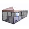 K9 Kennel Ultimate Expanded Metal Yard Kennel
