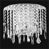 Glow Lighting Divine Ice 2 Light Wall Sconce