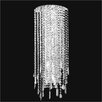 Glow Lighting Divine Ice 6 Light Wall Sconce