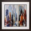 North American Art 'Urbania 1' by Robert Sequin Framed Painting Print