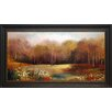 North American Art 'Park Garden' by Allison Pearce Framed Painting Print